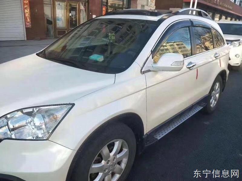 纯女士一手车,本田cav四驱2.4排量,最高配置刚检完车